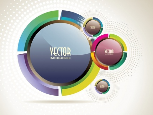 trend dynamic flare background vector
