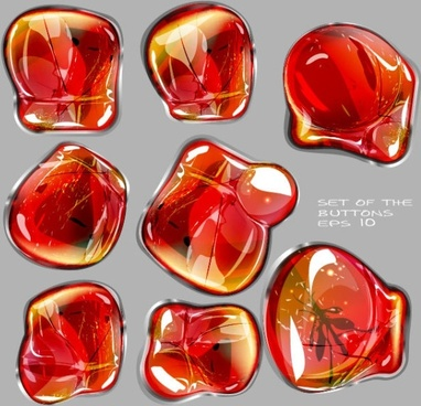 trend glass texture background 03 vector
