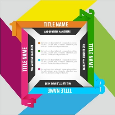 trend of business cards 04 vector