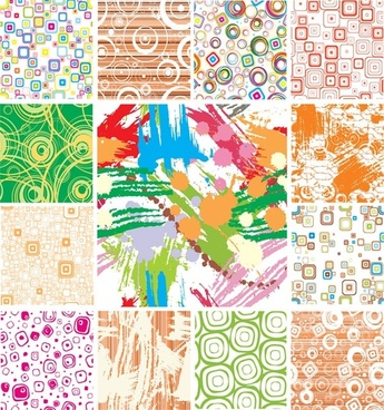 trend pattern vector background