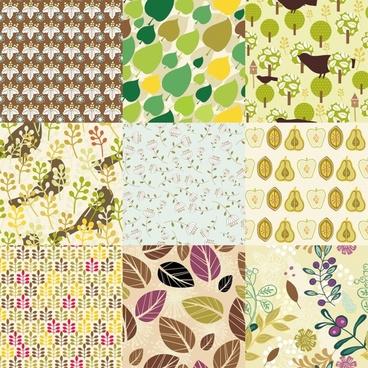 trend pattern vector butterfly pattern