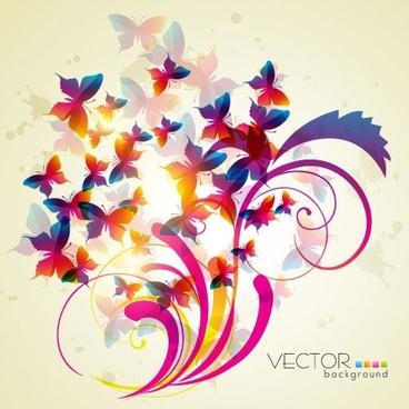 trend patterns 02 vector
