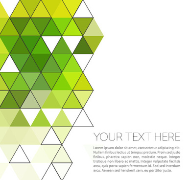 triangle modern background