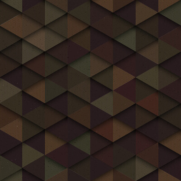 triangle multilayer seamless vector pattern