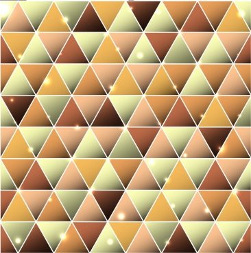 triangles background sparkling shiny flat decor
