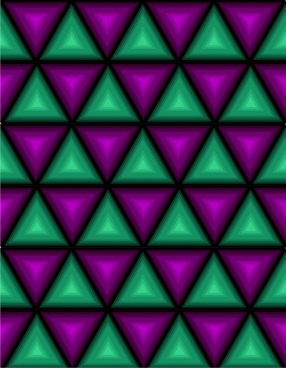 triangles pattern background colored repeating style