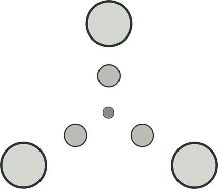Triangular Star Shape clip art