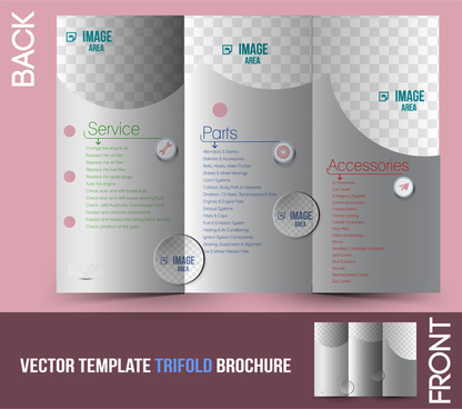 Tri Fold Brochure Template Free Vector Download 16462 Free Vector