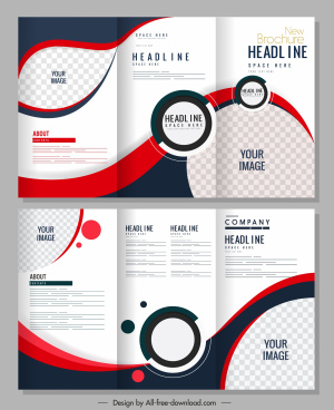 Free blank brochure template word (doc) | psd | indesign | apple.