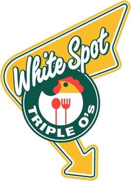 triple os white spot