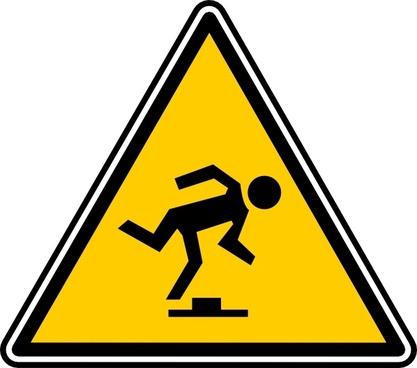 Tripping Hazard clip art