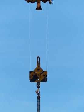 trolley hook hoist rope
