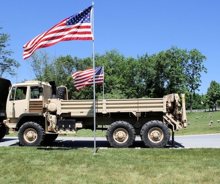 troop carrier without cover