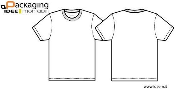 T Shirt Template Illustrator Free Vector Download 225625 Free