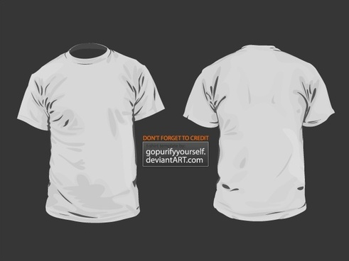 T-Shirt Vector Template V 2.0