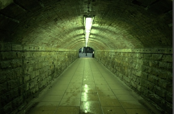 tunnel subway background
