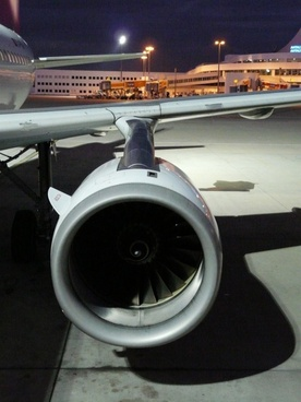 turbine engine aircraft