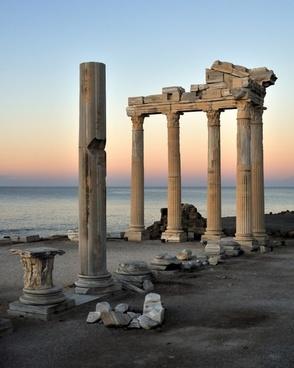 turkey columns column