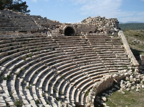 turkey theatre roman