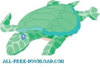 Turtle Swimming 1