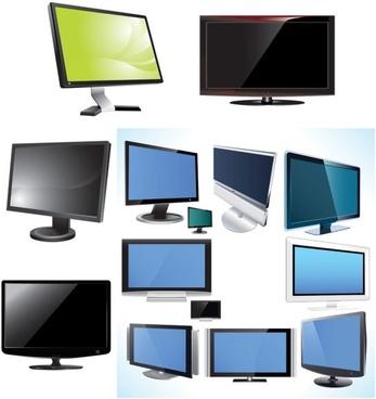 tv u0026amp monitor vector