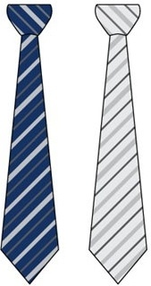 tie icons sets colored striped design