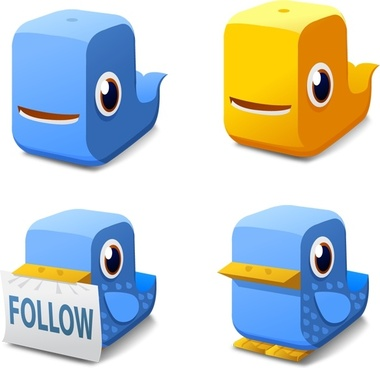 Twitter Block Icons icons pack