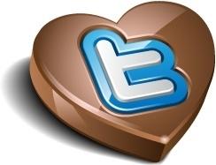 Twitter chocolate