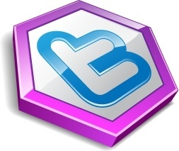 Twitter hexa purple