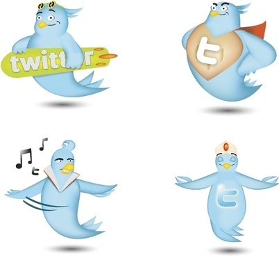 Twitter icon set icons pack