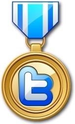 Twitter medal