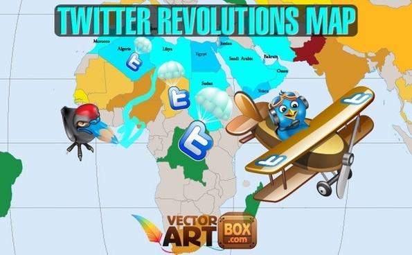 Twitter Revolutions Map