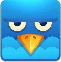 Twitter square angry