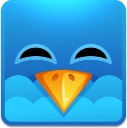 Twitter square happy