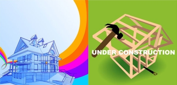 two constructionrelated clip art