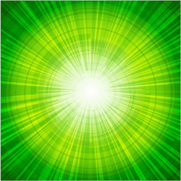 Two credit green light abstract background