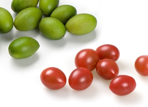 two olives amp cherry tomatoes to highdefinition picture