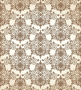 decorative pattern template elegant classic symmetric design