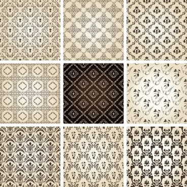 two sides continual pattern vector