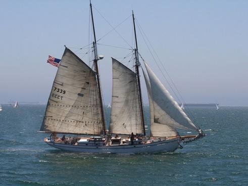 twomasted schooner