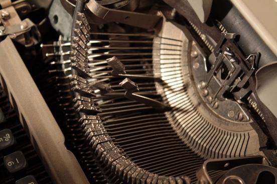typewriter typebars manual