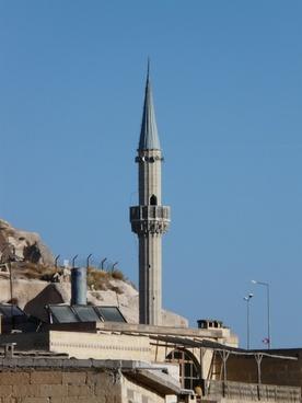 uchisar minaret mosque