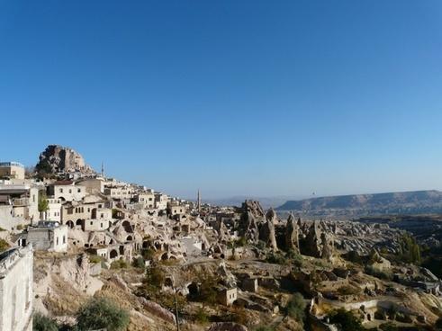 uchisar mountain hill