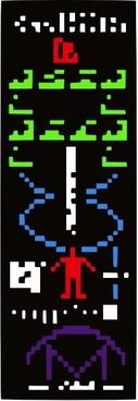 Ufo Alien Message clip art