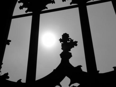 ulm cathedral window ornament