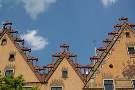 ulm town hall facade