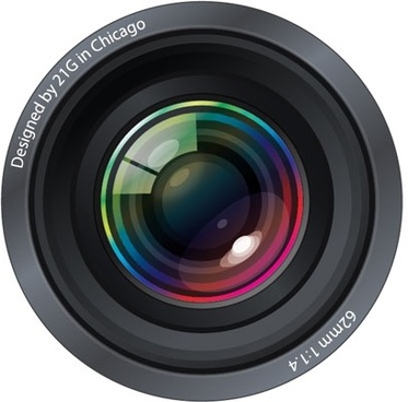 Ultra-Realistic Camera Lenses  Free Vector Graphics