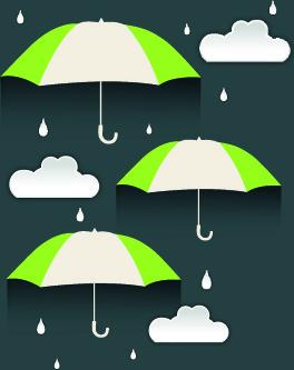 umbrella discounts design elements