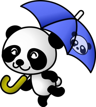 umbrella panda