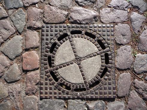 underground channel sewage system